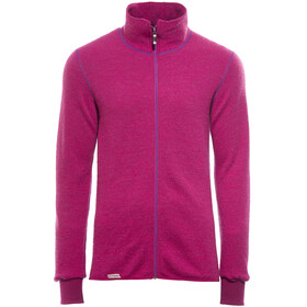 Woolpower Full Zip Veste 400 - Sweat-shirt - rose
